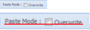 The Checkbox is rendered not in the same line as the rest of the items in Toolbar