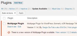 wordpress-plugin-update