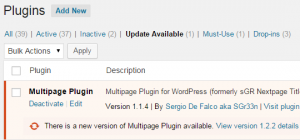 wordpress-plugin-update