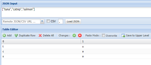 Bug Fixes and Enhancements to JSON Table Editor | SODEVE